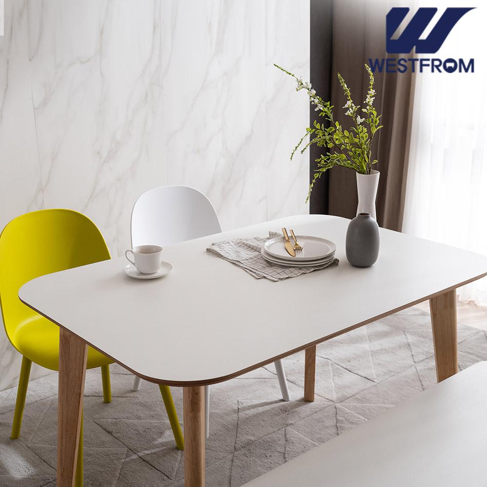 [웨스트프롬] 모던 에스메랄다) 1600 원목 라운드 테이블(식탁)