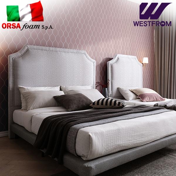 [웨스트프롬] New럭셔리 루엔) LED라이팅 패턴그레이 TWO 매트리스 침대(퀸) / 클라우드 Top F21 QUEEN 매트리스
